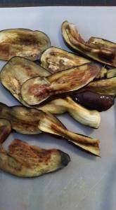 Eggplant Pan-fried Coconut oil