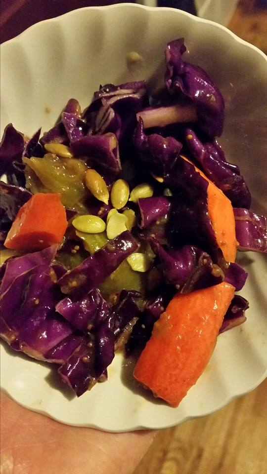 Purple Power Picnic Salad