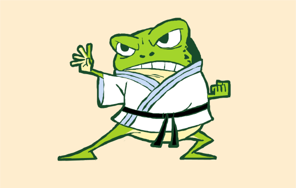 kungfufrog_monday